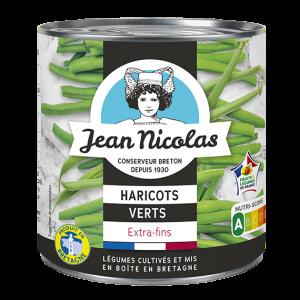 conserve haricots verts extra fins jean nicolas bretagne