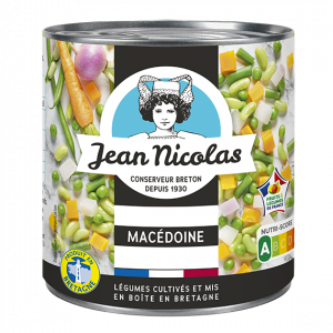 conserve macedoine legumes